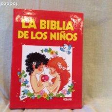 Libros de segunda mano: LA BIBLIA PARA NIÑOS ..EDITORIAL OCÉANO 3 TOMOS 1988. Lote 191267828
