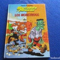 Libros de segunda mano: MAGOS DEL HUMOR MORTADELO Y FILEMON Nº22 EDICIONES B,S.A. 2000 LOS MONSTRUOS . Lote 191288928