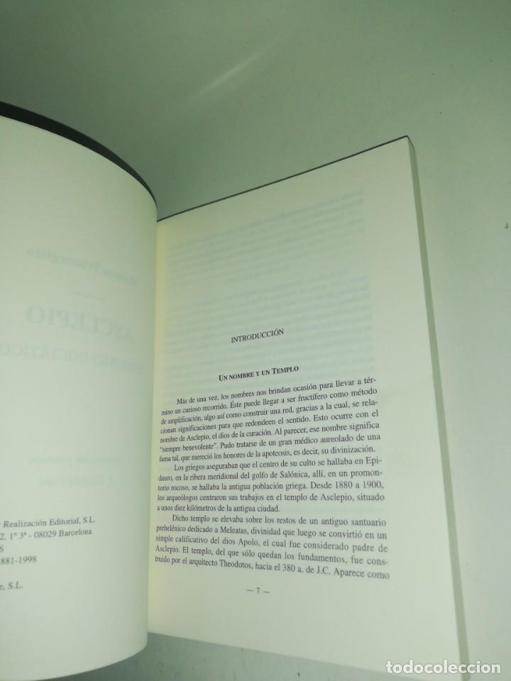 Libros de segunda mano: Hermes trimegisto, asclepio, discurso iniciatico - Foto 3 - 191320843