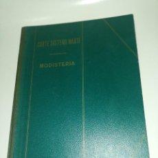 Libros de segunda mano: CORTE SISTEMA MARTI, MODISTERIA, BARCELONA 1972. Lote 191322126