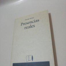Libros de segunda mano: GEORGE STEINER, PRESENCIAS REALES . Lote 191322916