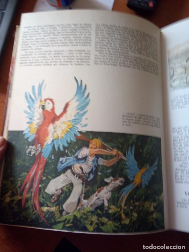 Libros de segunda mano: ROBINSON CRUSOE - RELATOS CLASICOS UNIVERSALES TIMUN MAS - Foto 4 - 191336320