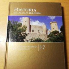 Libros de segunda mano: ARTE, CULTURA Y SOCIEDAD. ÉPOCA MEDIEVAL (I) HISTORIA DE LAS ISLAS BALEARES Nº 17 (EL MUNDO). Lote 191391113