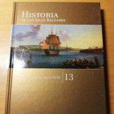 Libros de segunda mano: MENORCA EN EL SIGLO XVIII (HISTORIA DE LAS ISLAS BALEARES Nº 13) EL MUNDO. Lote 191407560