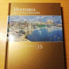 Libros de segunda mano: ÉPOCA CONTEMPORÁNEA. SIGLO XX (HISTORIA DE LAS ISLAS BALEARES Nº 15) EL MUNDO. Lote 191407945