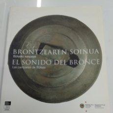 Libros de segunda mano: EL SONIDO DEL BRONCE LAS CAMPANAS DE BIZKAIA 2005 ERMITAS FORJA HERRERIAS PAIS VASCO BASQUE. Lote 191460676