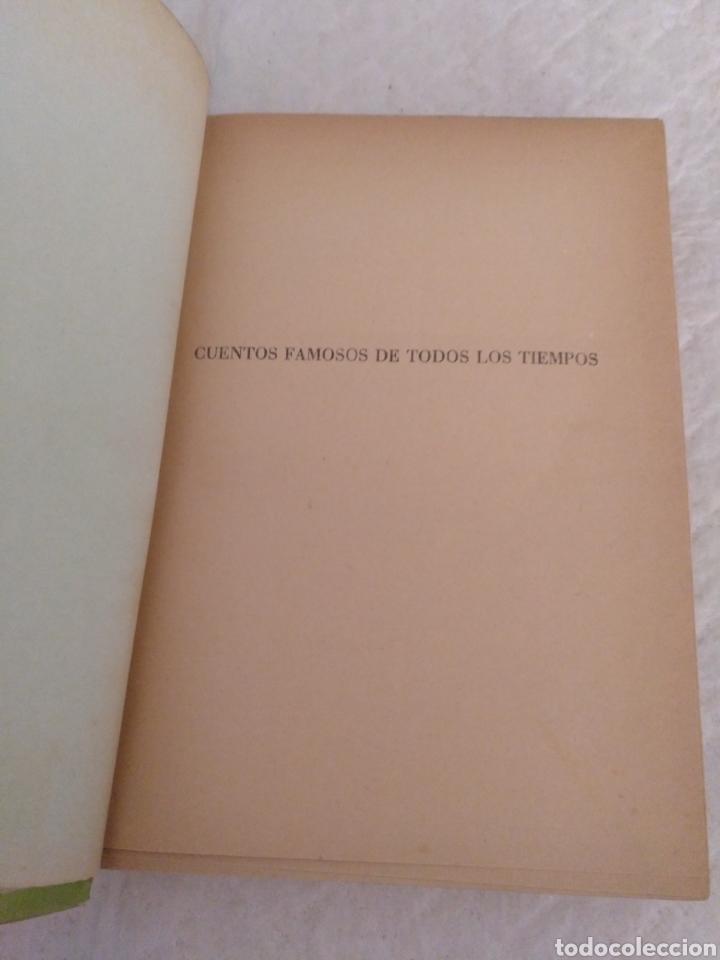 Libros de segunda mano: Cuentos famosos de todos los tiempos. Fariñas. Colección juvenil cadete 6. Libro - Foto 2 - 191461757