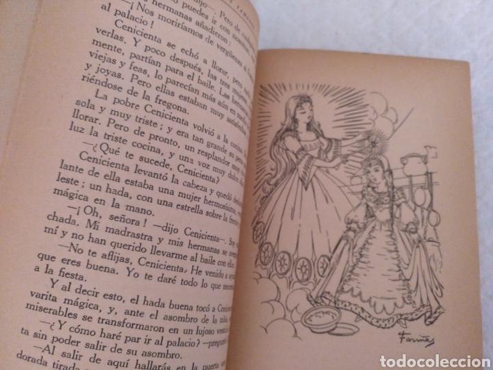 Libros de segunda mano: Cuentos famosos de todos los tiempos. Fariñas. Colección juvenil cadete 6. Libro - Foto 5 - 191461757