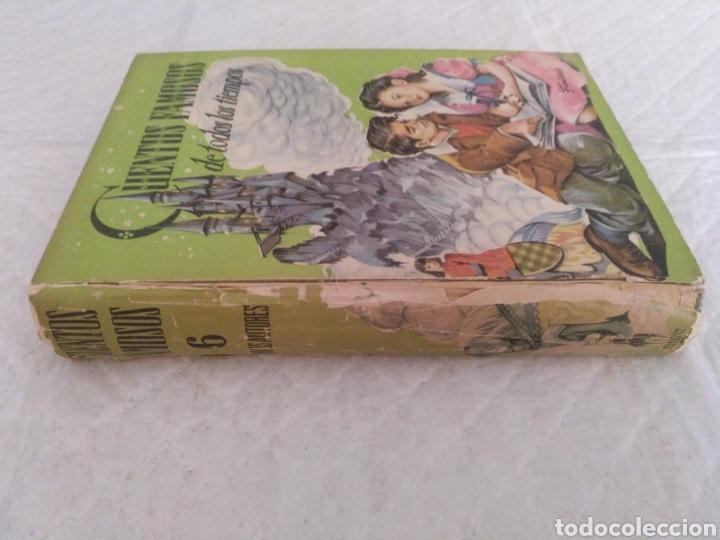 Libros de segunda mano: Cuentos famosos de todos los tiempos. Fariñas. Colección juvenil cadete 6. Libro - Foto 9 - 191461757