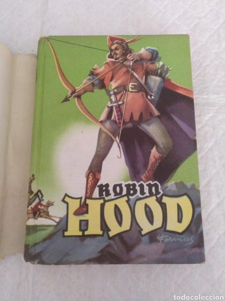 Libros de segunda mano: Robin Hood. Adaptación Manuel Rossell Pesant. Fariñas. Colección juvenil cadete 43. Libro - Foto 2 - 191470791