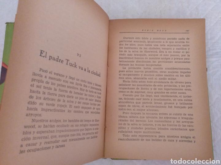 Libros de segunda mano: Robin Hood. Adaptación Manuel Rossell Pesant. Fariñas. Colección juvenil cadete 43. Libro - Foto 6 - 191470791
