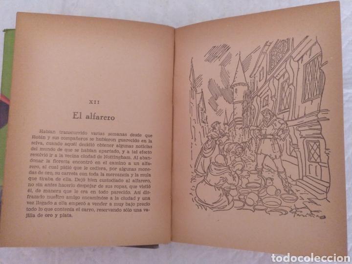 Libros de segunda mano: Robin Hood. Adaptación Manuel Rossell Pesant. Fariñas. Colección juvenil cadete 43. Libro - Foto 7 - 191470791
