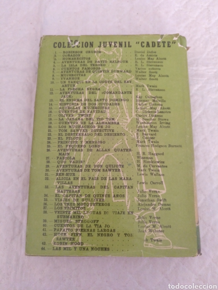 Libros de segunda mano: Robin Hood. Adaptación Manuel Rossell Pesant. Fariñas. Colección juvenil cadete 43. Libro - Foto 9 - 191470791