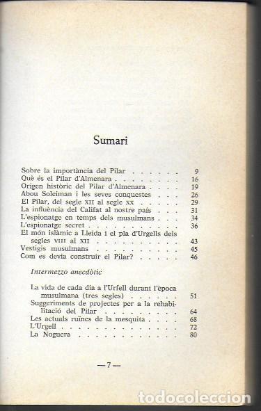 Libros de segunda mano: Vida i miracles del Pilar d Almenara / Domènec de Bellmunt. BCN : El Llamp, 1984. dedicat x autor. - Foto 4 - 191515777