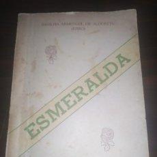 Libros de segunda mano: ESMERALDA,POESÍAS LA HABANA 1946 BASILISA ARMENGOL DE ALDERETE . Lote 191539857