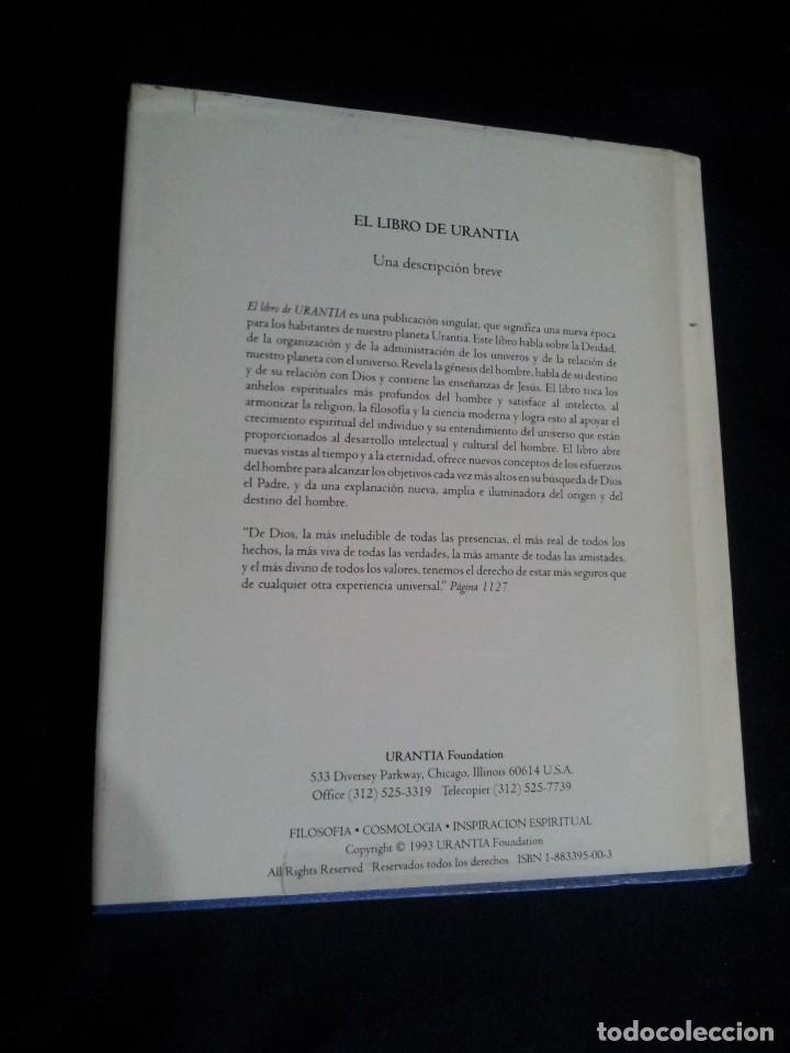 Libros de segunda mano: EL LIBRO DE URANTIA - URANTIA FOUNDATION - PRIMERA EDICION 1993, PRINTED IN THE USA - Foto 2 - 191556035