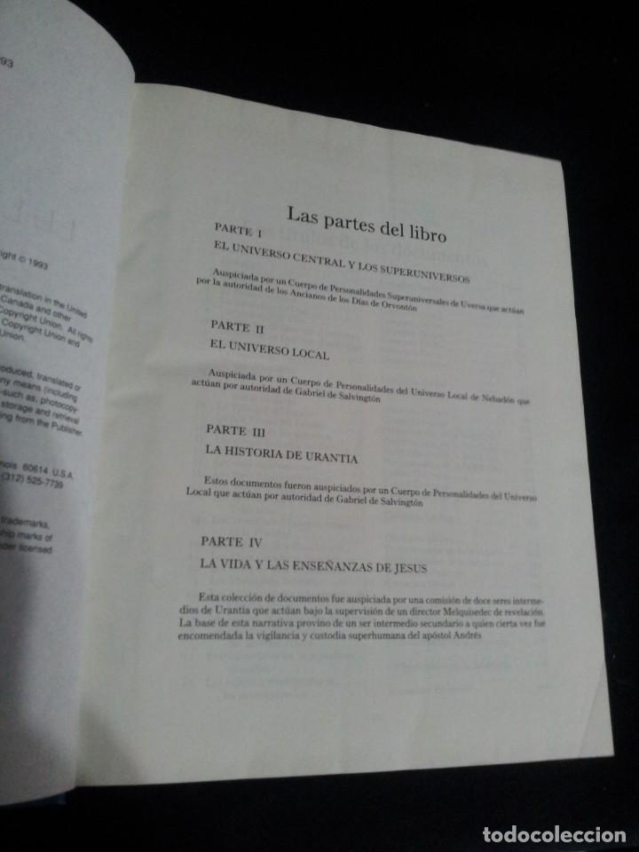 Libros de segunda mano: EL LIBRO DE URANTIA - URANTIA FOUNDATION - PRIMERA EDICION 1993, PRINTED IN THE USA - Foto 3 - 191556035