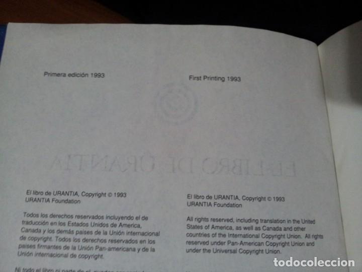 Libros de segunda mano: EL LIBRO DE URANTIA - URANTIA FOUNDATION - PRIMERA EDICION 1993, PRINTED IN THE USA - Foto 4 - 191556035