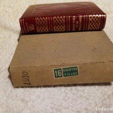 Libros de segunda mano: EDITORIAL AGUILAR JOYA DE LUJO CUENTOS VIEJOS DE LA VIEJA ESPAÑA(NUEVO). Lote 191741503