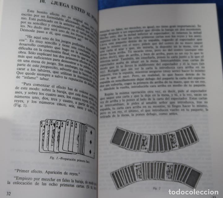 Libros de segunda mano: Nuevos juegos de Magia con Naipes - Santiago De La Riva Domínguez - Fournier (1988) - Foto 3 - 191749968