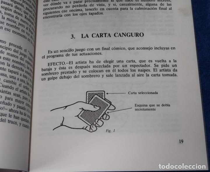 Libros de segunda mano: Nuevos juegos de Magia con Naipes - Santiago De La Riva Domínguez - Fournier (1988) - Foto 4 - 191749968