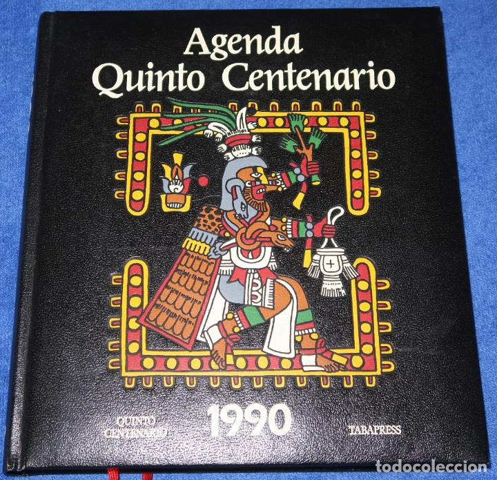 Libros de segunda mano: Agenda - Quinto Centenario - 1990 / 1991 - Culturas Pre-Colombinas - Foto 2 - 191750482