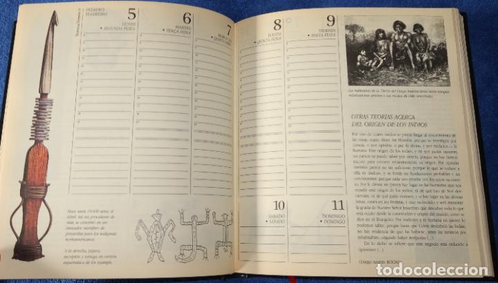 Libros de segunda mano: Agenda - Quinto Centenario - 1990 / 1991 - Culturas Pre-Colombinas - Foto 8 - 191750482
