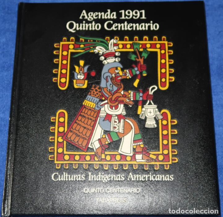 Libros de segunda mano: Agenda - Quinto Centenario - 1990 / 1991 - Culturas Pre-Colombinas - Foto 13 - 191750482