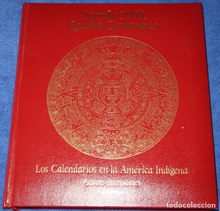 Libros de segunda mano: Agenda - Quinto Centenario - 1990 / 1991 - Culturas Pre-Colombinas - Foto 21 - 191750482