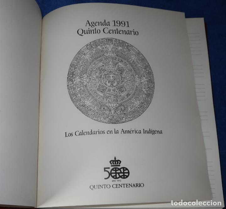Libros de segunda mano: Agenda - Quinto Centenario - 1990 / 1991 - Culturas Pre-Colombinas - Foto 23 - 191750482