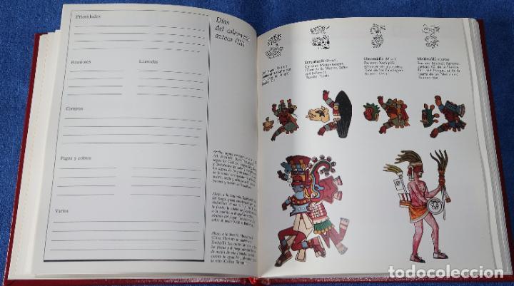 Libros de segunda mano: Agenda - Quinto Centenario - 1990 / 1991 - Culturas Pre-Colombinas - Foto 29 - 191750482