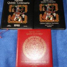 Libros de segunda mano: AGENDA - QUINTO CENTENARIO - 1990 / 1991 - CULTURAS PRE-COLOMBINAS. Lote 191750482