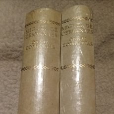 Libros de segunda mano: OBRAS COMPLETAS CERVANTES EDITORIAL AGUILAR COLECCIÓN CINCUENTENARIO(PRECINTADOS). Lote 191795991