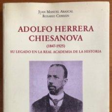 Libros de segunda mano: MURCIA- ARQUEOLOGIA- NUMISMATICA- ADOLFO HERRERA CHIESANOVA- REAL AC. HISTORIA 2.000 . Lote 191799428