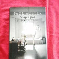 Libri di seconda mano: LITERATURA EXTRANJERA. VIAJES POR EL SCRIPTORIUM. PAUL AUSTER. Lote 191838857