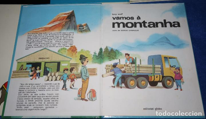 Libros de segunda mano: Lote de 6 libros de Tony Wolf - Editorial Globo (1983) ¡Portugués! - Foto 3 - 191850197