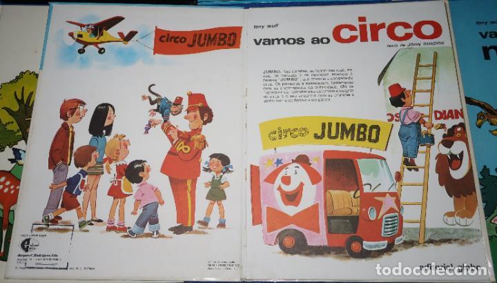 Libros de segunda mano: Lote de 6 libros de Tony Wolf - Editorial Globo (1983) ¡Portugués! - Foto 4 - 191850197