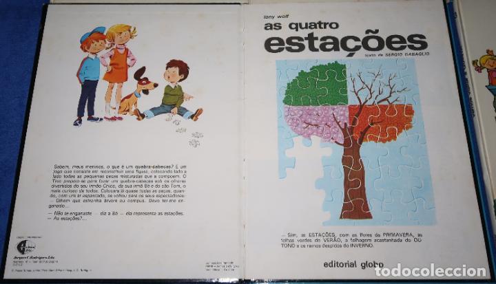 Libros de segunda mano: Lote de 6 libros de Tony Wolf - Editorial Globo (1983) ¡Portugués! - Foto 7 - 191850197