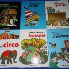 Libros de segunda mano: LOTE DE 6 LIBROS DE TONY WOLF - EDITORIAL GLOBO (1983) ¡PORTUGUÉS!. Lote 191850197