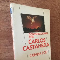 Libros de segunda mano: CONVERSACIONES CON CARLOS CASTANEDA - CARMINA FORT - HEPTADA EDICIONES - BUEN ESTADO. Lote 191886331