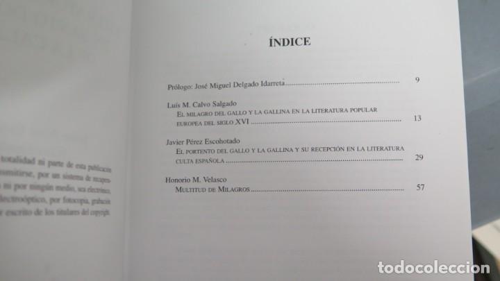 Libros de segunda mano: LITERATURA Y MILAGRO EN SANTO DOMINGO DE LA CALZADA - Foto 2 - 191923838