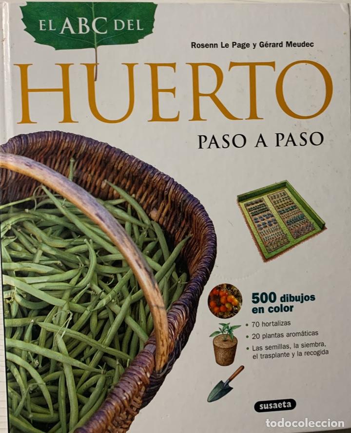 EL ABC DEL HUERTO PASO A PASO. EDITORIAL SUSAETA (Libros de Segunda Mano - Ciencias, Manuales y Oficios - Otros)