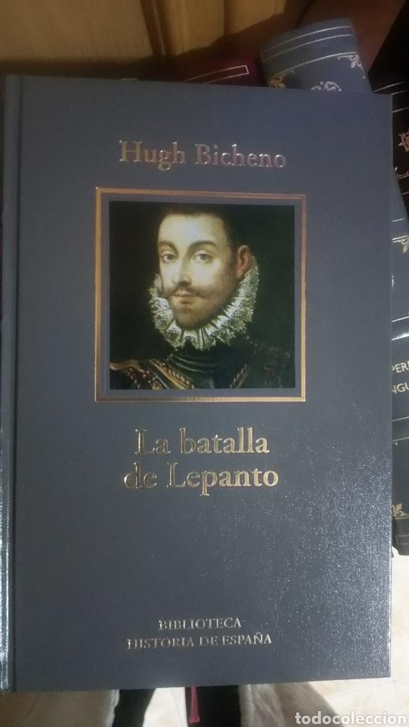 LA BATALLA DE LEPANTO. HUGH BICHENO. BIBLIOTECA HISTORIA DE ESPAÑA. 2005 RBA COLECCIONABLES. (Libros de Segunda Mano - Historia - Otros)