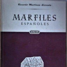 Libros de segunda mano: RICARDO MARTÍNEZ LLORENTE - MARFILES ESPAÑOLES. Lote 182206771