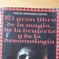 Libri di seconda mano: EL GRAN LIBRO DE LA MAGIA, DE LA BRUJERÍA Y DE LA DEMONOLOGÍA. CARLOS HERNÁNDEZ CASTRO. 1994.. Lote 191974060