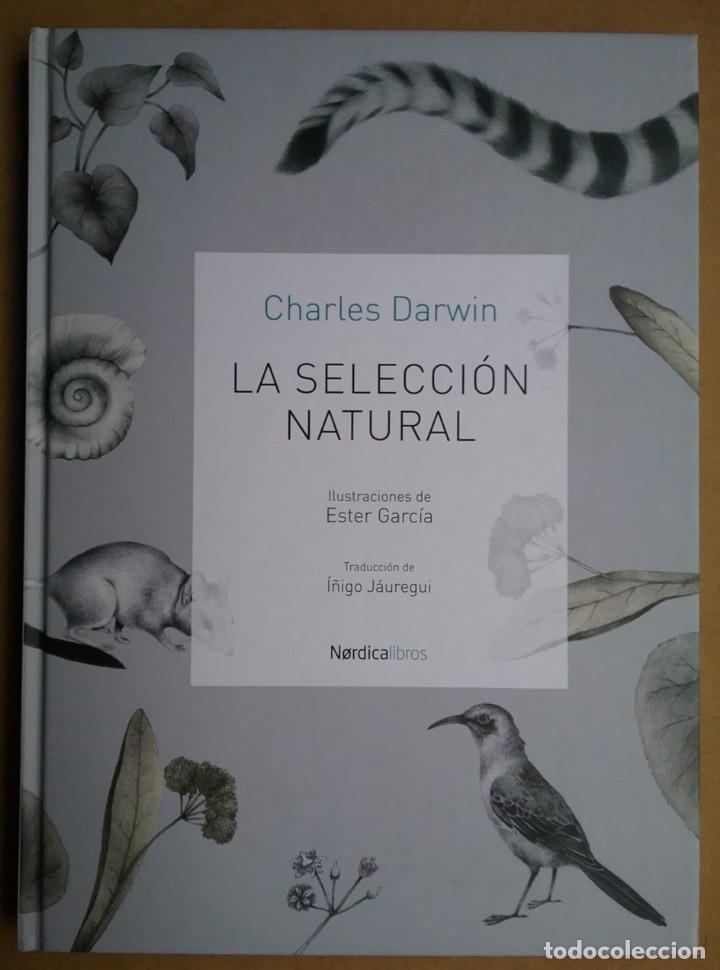 CHARLES DARWIN EVOLUCIONISMO LIBRO LA SELECCIÓN NATURAL (Libros de Segunda Mano - Ciencias, Manuales y Oficios - Otros)