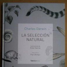 Livres d'occasion: CHARLES DARWIN EVOLUCIONISMO LIBRO LA SELECCIÓN NATURAL. Lote 191980330