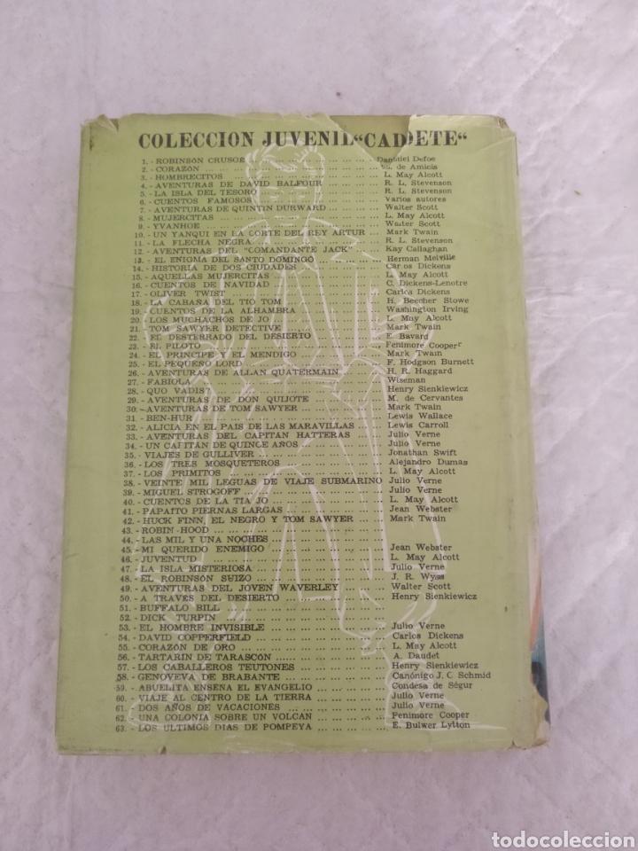 Libros de segunda mano: La flecha negra. R L Stevenson. Portada e ilustraciones Fariñas. Colección juvenil cadete 11. Libro - Foto 7 - 191987428