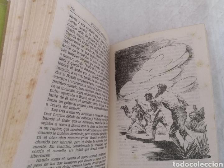 Libros de segunda mano: Salvado del mar. William H Kingston. Fariñas. Colección juvenil cadete 112. Libro - Foto 4 - 191987825