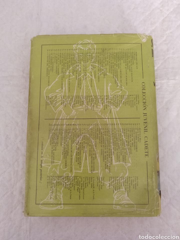 Libros de segunda mano: Salvado del mar. William H Kingston. Fariñas. Colección juvenil cadete 112. Libro - Foto 10 - 191987825